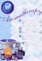 advertisement for aromatherapy