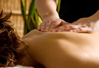massage application of essential oils