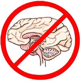 NOT brain