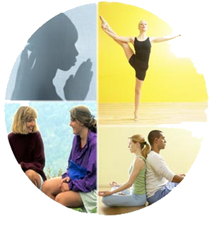 collage MindBody therapies